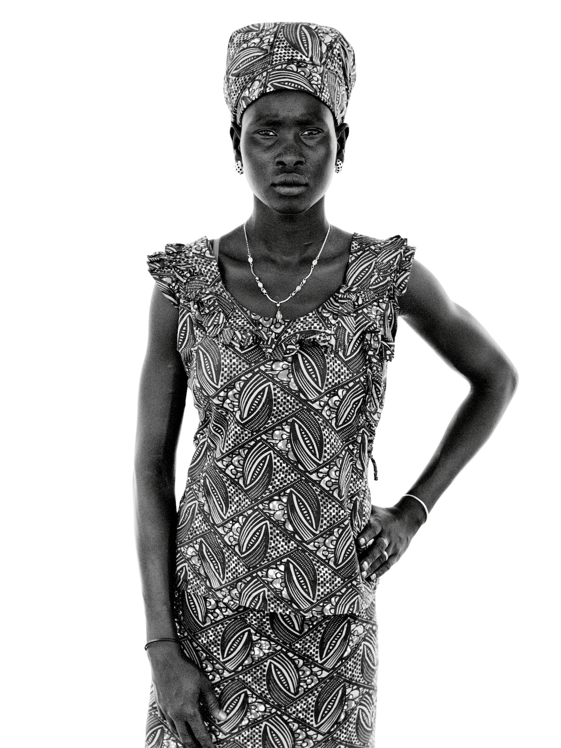 Nyanchan was calling her sister. She was in an internally displaced persons camp in Juba. They hadn't been in contact since 2013.